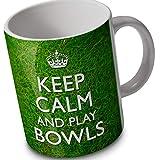 verytea Tasse/Mug Fun pétanque - Keep Calm and Play Bowls