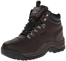 small Propet Cliff Walker Men's Boots, Bronco Brown, 14 5E US