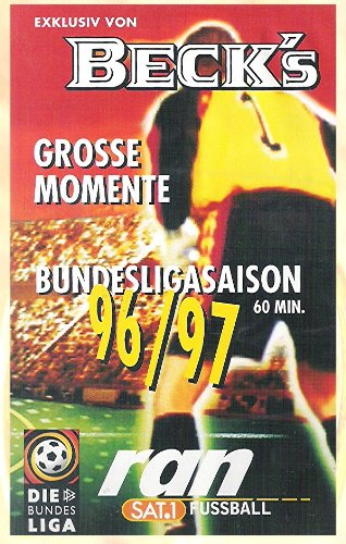 Beck`s Grosse Momente Bundesligasaison 96/97 60 min. ran sat1 Fußball (Beck´s Grosse Momente)