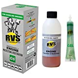 RVS Technology G6 Engine Treatment. for Gasoline Engines with an Oil Capacity up to 6 quarts. Restore and Protect Your Engine, Save Fuel, Increase Power. Safe for All Engines.