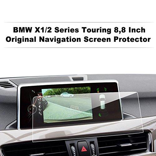 LFOTPP Serie 2 Gran Tourer Active Tourer X1 8,8 Pollici Navigazione Pellicola Protettiva in Vetro Temperato Screen Protector Film - 9H Antigraffio HD Alta Trasparente Glass