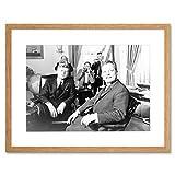 The Art Stop BW History JFK Kennedy Mayor Willy Brandt