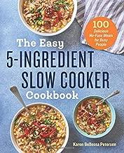 easy crockpot meals cookbook