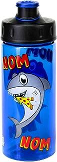 COOL GEAR Chug Pizza Shark 16oz BPA Free Flip Top Bottle