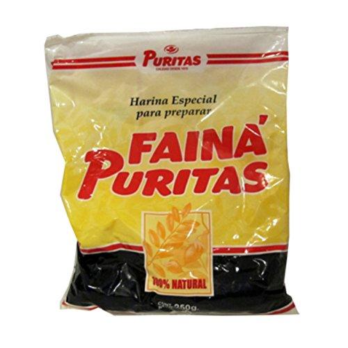 """""""Farine de pois chiches"""" - mélange pour Faina 250g Puritas"""