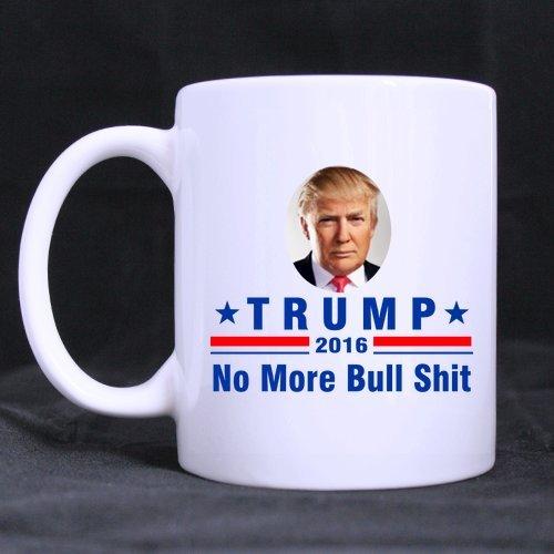 Best Donald Trump 2016 Taza de café o taza de té, tazas de material de cerámica, color blanco - 11 oz