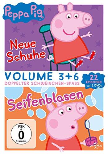 Peppa Pig Doppelpack - Neue Schuhe & Seifenblasen [2 DVDs]