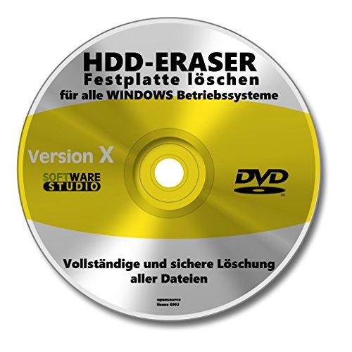 HDD Formatierer Festplatte Datenlöschung.