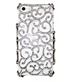 Uunique Elite Decorativo Reveal Carcasa rígida para iPhone 5/5S - Blanco