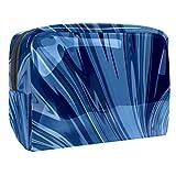 Bolsa de maquillaje portátil con cremallera bolsa de aseo de viaje para mujeres práctico almacenamiento cosmético bolsa depresión vertical