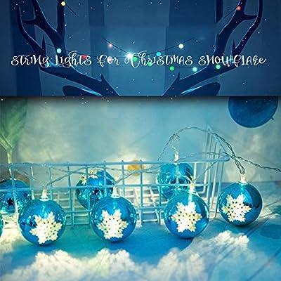 Longay 2M 10 Led Christmas Light String Light Xmas Party Home
