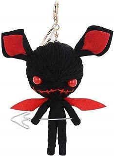 Bigmc Devil Voodoo String Doll Keyring Keychain by NEWTARN Store