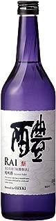 【もう一度飲みたいと思える日本酒】深いコクとほんのり甘い口当たりの飲みやすさ 大関 醴(らい) 純米酒 [ 日本酒 兵庫県 720ml ]