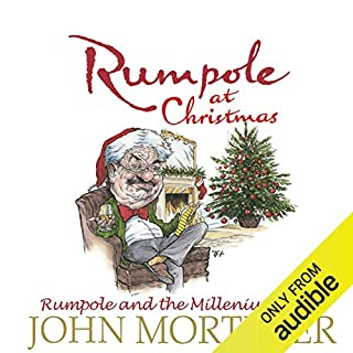 Rumpole at Christmas audiobook cover art