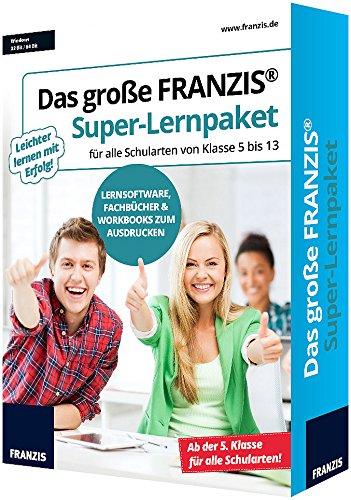 Das große FRANZIS Super-Lernpaket für alle Schularten Kl. 5 - 13