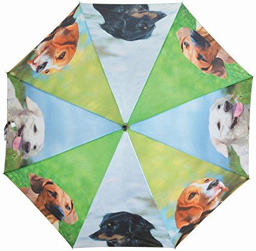 'Esschert Design Parapluie pour chien, en polyester Les Matériaux \