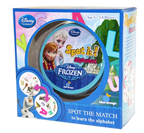 Spot It! Disney Frozen - Alphabet