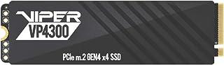 Patriot Memory Viper VP4300 1TB M.2 2280 PCIe Gen4 x 4 内蔵型SSD 最大転送速度7,400MB/s アルミニウム製ヒートシンク/グラフェン ヒートシンクタンク付き 五年間保証