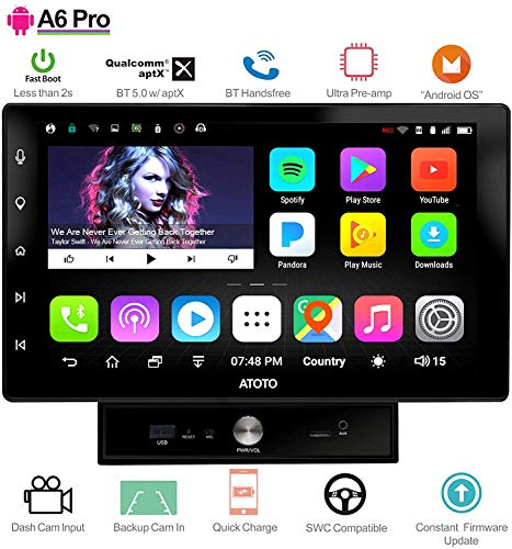 ATOTO A6 Pro A6Y2721PR double din best android car stereo