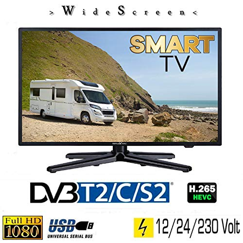 Reflexion LEDW24i LED Smart TV mit DVB-S2 /C/T2 für 12V u. 230Volt WLAN Full HD