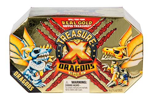 TREASURE X- Dragons Gold - Pack Dragones, Multicolor (Moose LTD 41508)