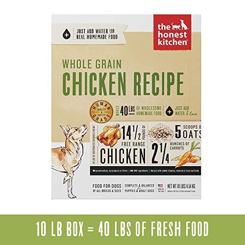 Honest Kitchen The Human Grade Dehydrated Organic Grain Chicken Dog Food