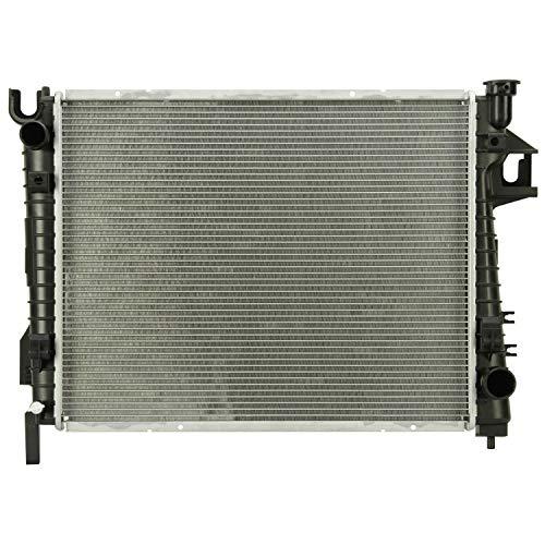 Klimoto Radiator with 24 Inch Wide | fits Dodge Ram 1500 2002-2008 3.7L V6 4.7L 5.7L 5.9L V8 | CH3010281 CH3010301 52028830 52028830AE 52028830AF
