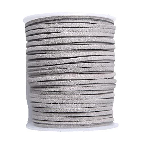 XIEYI Collar y Pulsera de Proceso de Bricolaje para Equipo de empaque de Ramo de 50 Yardas de Cuero Artificial-D