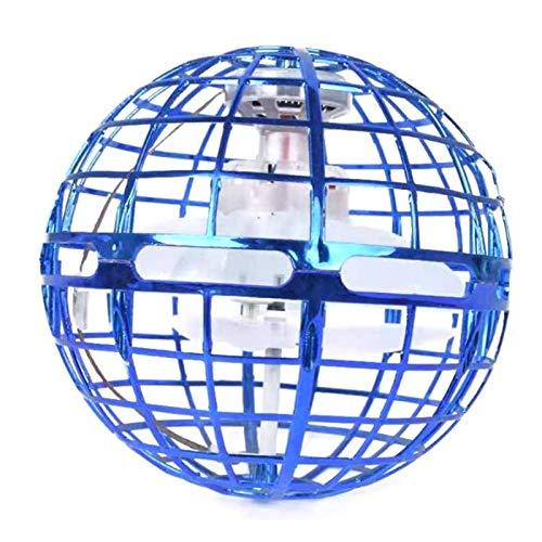 Daybreak UFO Flynova Pro Ball | Fliegenden Ball Mit Endlosen Tricks Für Kinder Und Erwachsene, Indoor-Flugspielzeug 360° Drehbare Rotierende LED Leuchten Für Indoor Outdoor Geschenke