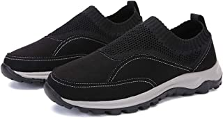 Chaussures De Sport De Plein Air Légères De Grande Taille De Papa Chaussures De Randonnée Respirantes pour Hommes D'âge Mo...