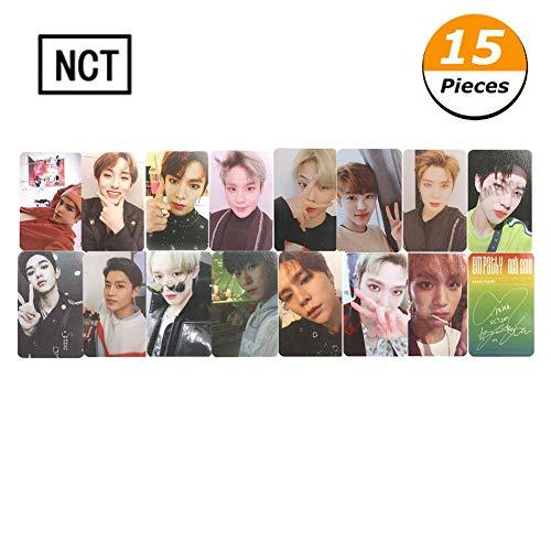 GOTH Perhk Kpop NCT Empathy Dream Fotokarten Fotokarten Poster Album Lomo Karten Fans DIY Geschenk(15pcs)