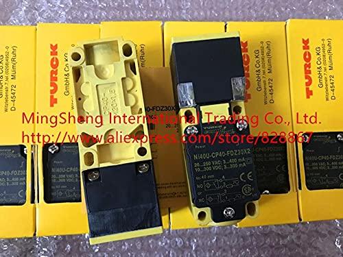 Original 100% Sensor Switch Ni40U-CP40-FDZ30X2 250VAC 300VDC 300mA 400mA Proximity Switch Import Technology 1 Years Warranty