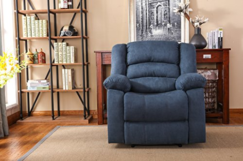 NHI Express Contemporary Addison Large Recliner Microfiber
