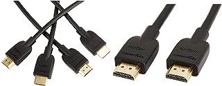 Amazonベーシック ハイスピード HDMIケーブル - 0.9m 2本セット(タイプAオス - タイプAオス) &  ハイスピード HDMIケーブル - 1.8m (タイプAオス - タイプAオス)