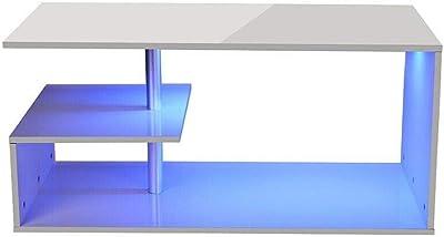 ANZADI MOBILIARIO Mesa de Centro Moderna Kyo 110 Ancho x 60 ...