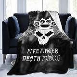 5-FFDP Ultra-Soft Micro Fleece Warm Blanket Throw Fuzzy Lightweight Cozy Plush Bed Couch Sofa Home