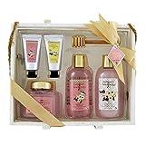 Gloss - caja de baño, caja de regalo para mujeres - Set de Baño Regalo - Gourmet Delights - Coconut Marshmallow