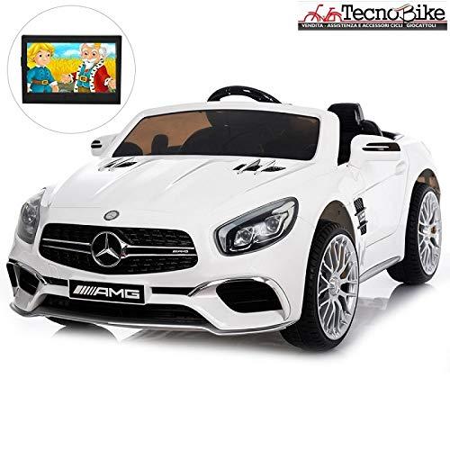 Tecnobike Shop Auto Macchina Elettrica per Bambini Mercedes SL65 AMG 12V...