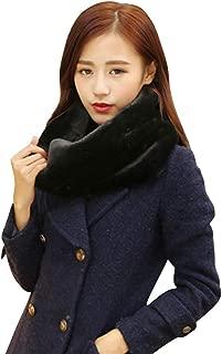 Women Infinity Scarf Faux Fur Scarf Soft Winter Scarf Neck Warmer Scarf Wrap