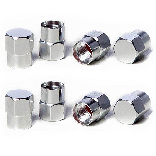 회로 성능 VC3 시리즈 실버 알루미늄 밸브 스템 캡(8 개)