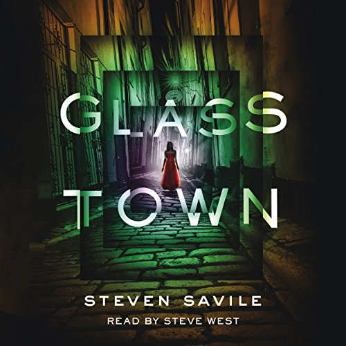 Glass Town audiobook cover art