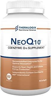NeoQ10 | Enhanced Absorption Coenzyme Q10 (CoQ10) | 90 softgels
