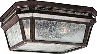 Feiss OL11313WCT-LED Londontowne LED Marine Grade Outdoor Flush Mount Ceiling Lighting, Bronze, 1-Light (12