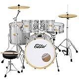 Eastar 20 Inch Drum Set for Adult Junior Teen, 5...
