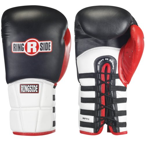 Ringside Pro Style IMF Tech Lace Boxing Training Sparring Gloves