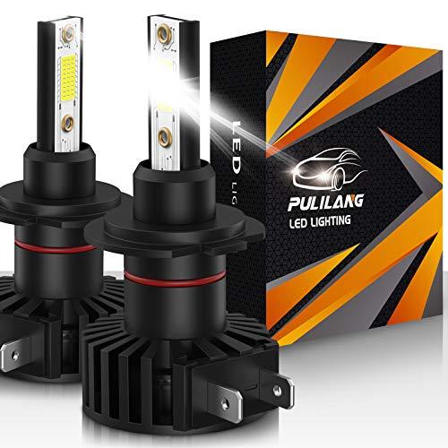 Bombillas de faros LED H7 Luz de coche led 60W 12000 lúmenes Conversión de faros a prueba de agua súper brillante Temperatura de color 6500K IP65 Paquete de 2