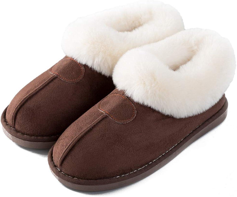 Nafanio Women Winter Boots Warm Cotton shoes Flats Home Plush Patchwork Fake Fur Indoor Floor Female Bedroom Slippers