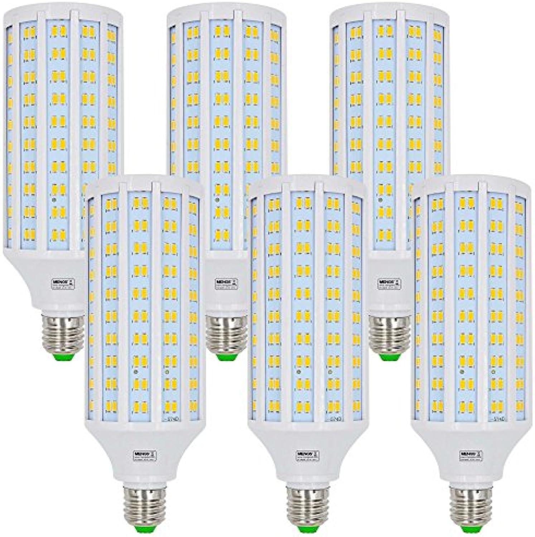 MENGS 6 Stück E27 LED Lampe 40W Warmwei 3000K AC 85-265V 280x5730 SMD