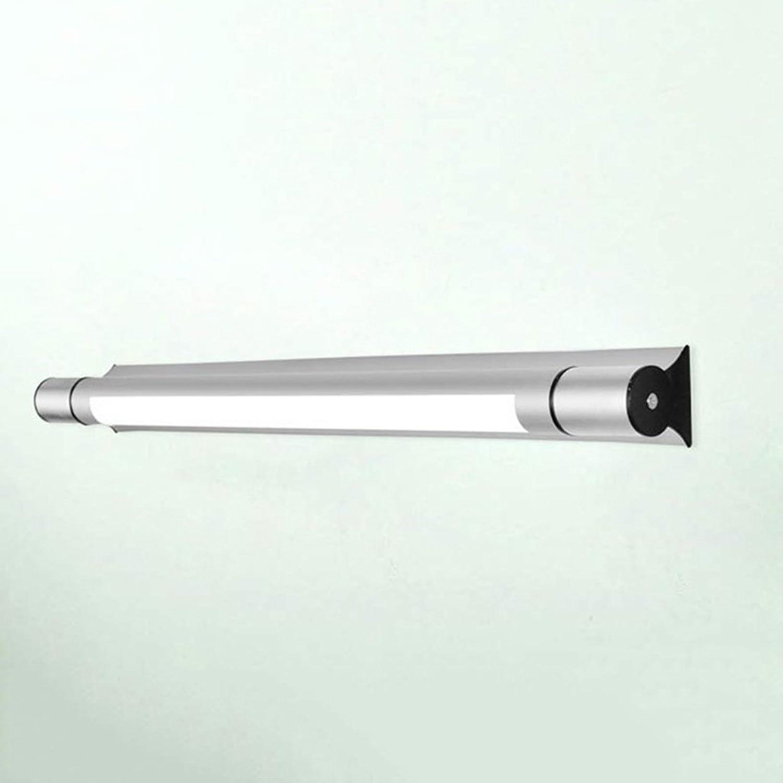 & Spiegellampen Spiegel Front Ligh Einfache und moderne LED Badezimmer Licht Wandleuchte Badezimmer Beleuchtung Make-up Lampen Silber Badezimmerbeleuchtung (gre   4W 40cm)