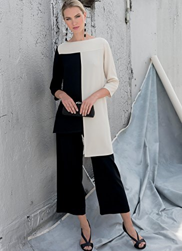 Vogue Patterns 1581E5 Vogue Schnittmuster 1581 E5, Tunika und Hose für Damen, Größen 42-50, Tissue, mehrfarbig, 20 x 0.5 x 25 cm